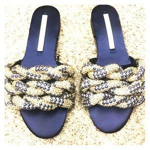 Cute Zara sandals 7.5/38. Nwt